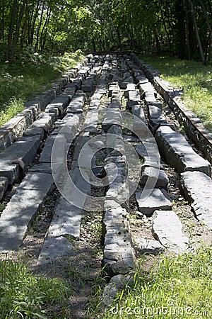 Primer ferrocarril en América