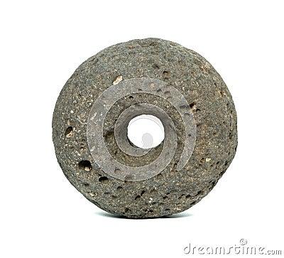 Primera rueda de piedra