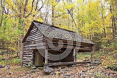 Primitive Crib in Smoky Mountains