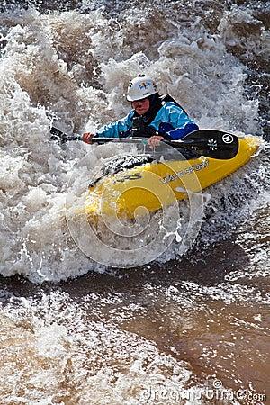 Primo giorno dei giochi 2011 della montagna di Teva Fotografia Stock Editoriale