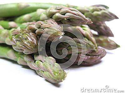 Primo piano dell asparago