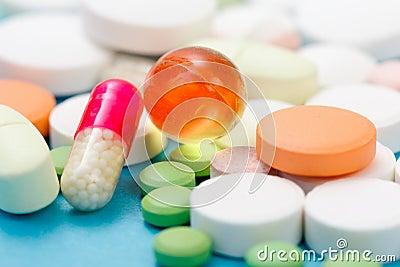 Primo piano delle droghe