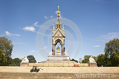 Prince Albert Memorial in London