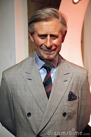 Prince Charles at Madame Tussaud s Editorial Stock Photo