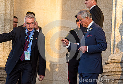 Prince Charles Editorial Photo