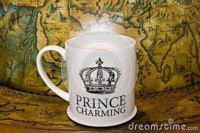 Prince charming cup of tea