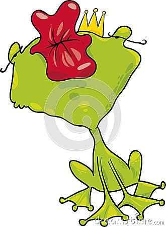 Prince frog kiss