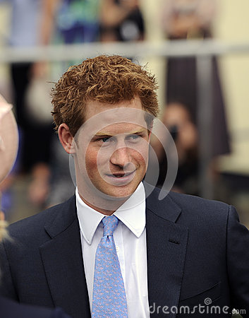 Prince Harry Editorial Stock Photo