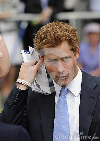Prince Harry Editorial Image