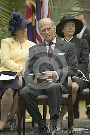 Prince Philip Editorial Photography