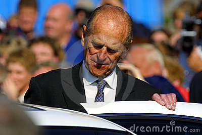 Prince philip duke of edinburgh Editorial Stock Image