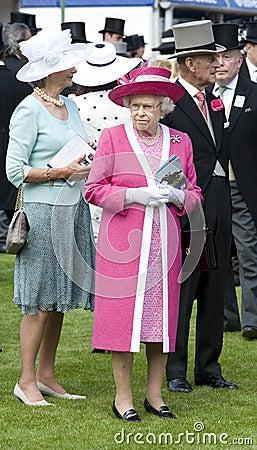 Prince Phillip,Elizabeth II Editorial Photo