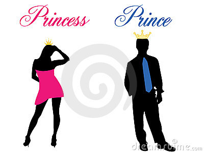 Prince and princess