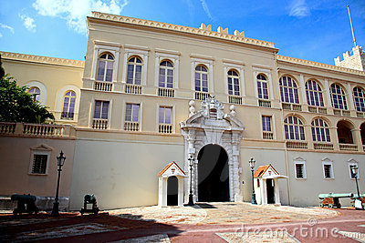 The Prince s Palace in Monaco