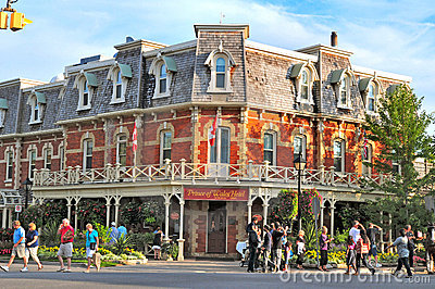 Prince of wales hotel, niagara on the lake Editorial Stock Photo