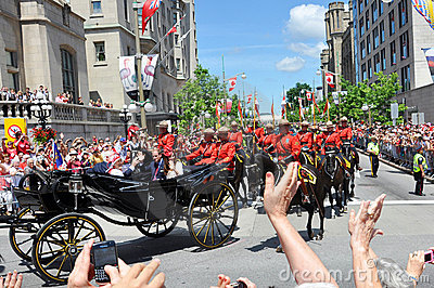 Prince William and Catherine in Ottawa Editorial Stock Photo