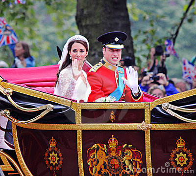 Prince William and Catherine wedding Editorial Photography