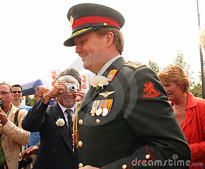 Prince William of Orange Editorial Stock Photo