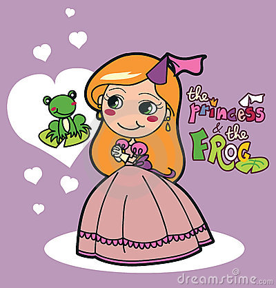 A princesa e a râ