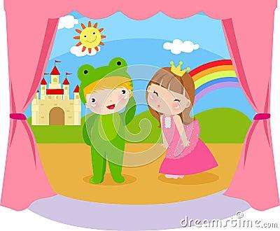 Princess и лягушка