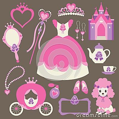 маленький комплект princess