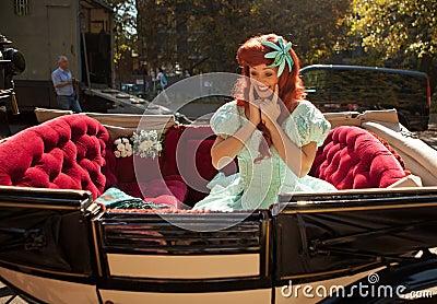 Princess Ariel Editorial Stock Image