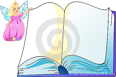 The princess with book
