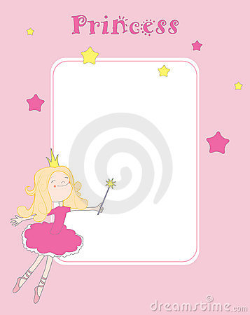 Free Princess Card Royalty Free Stock Image - 14918836