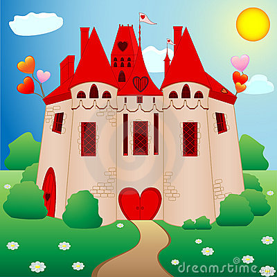 Free Princess Castle Royalty Free Stock Photo - 12405225