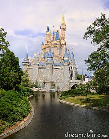 Princess Castle Editorial Stock Photo