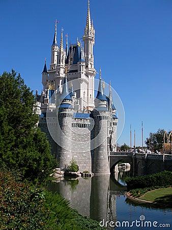Princess Castle Editorial Photo