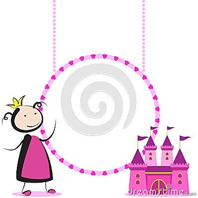 Princess with castle