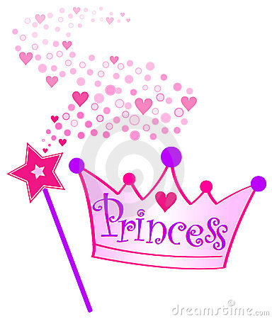 Free Princess Crown And Scepter/eps Stock Photography - 8065422