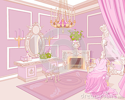 Princess dressing room