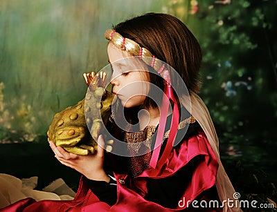 Princess and the frog prince