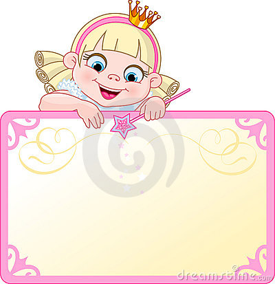 Princess Invite or Placard