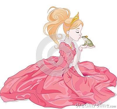 Princess Kissing Frog
