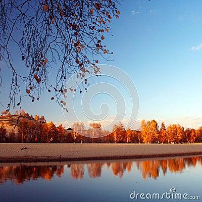 Princess  lake  autumn