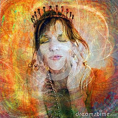 Free Princess Of High Self Esteem Stock Photos - 8968093