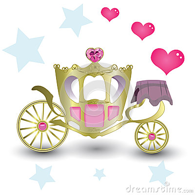 Princess Royal Carriage Stock Illustration - Image: 39732107
