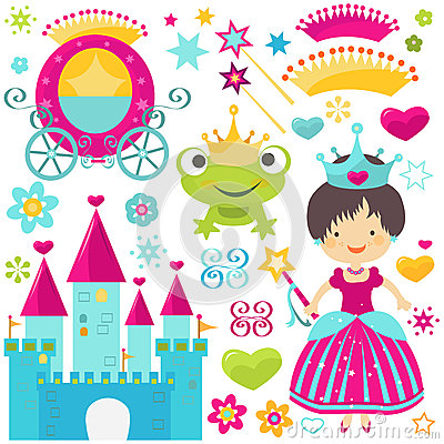 Free Princess Set Stock Images - 28987574