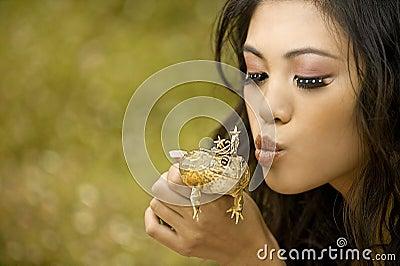 Princesse et la grenouille