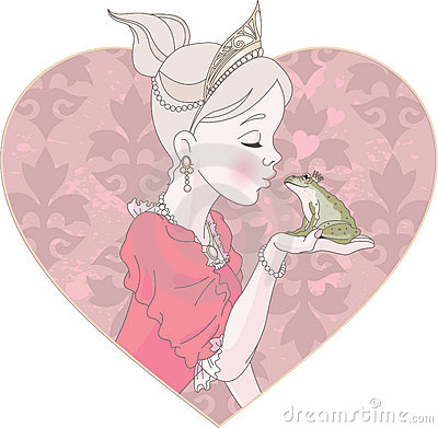 Princesse Kissing Frog