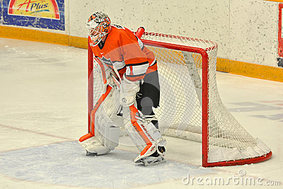 Princeton #1 in NCAA Hockey Game Editorial Photography
