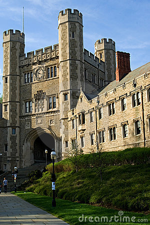 Princeton University Editorial Stock Image