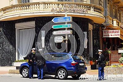 Principality of Monaco Editorial Stock Image