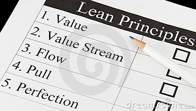 The Principles of Lean Thinking