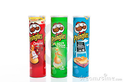 Pringles Potato Chips Editorial Photography