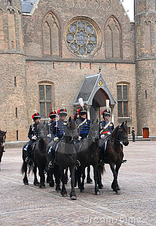 Prinsjesdag Cavalry Editorial Image