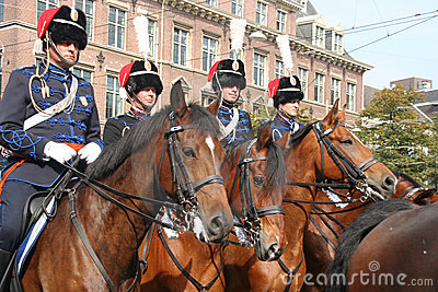 Prinsjesdag Cavalry Editorial Photography